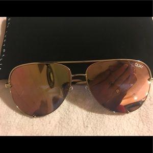 QUAY AUSTRALIA SUNGLASSES mirror Sunglasses